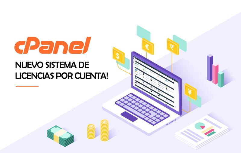 Nuevo Sistema de Licencias de cPanel en Servidores VPS y Dedicados.